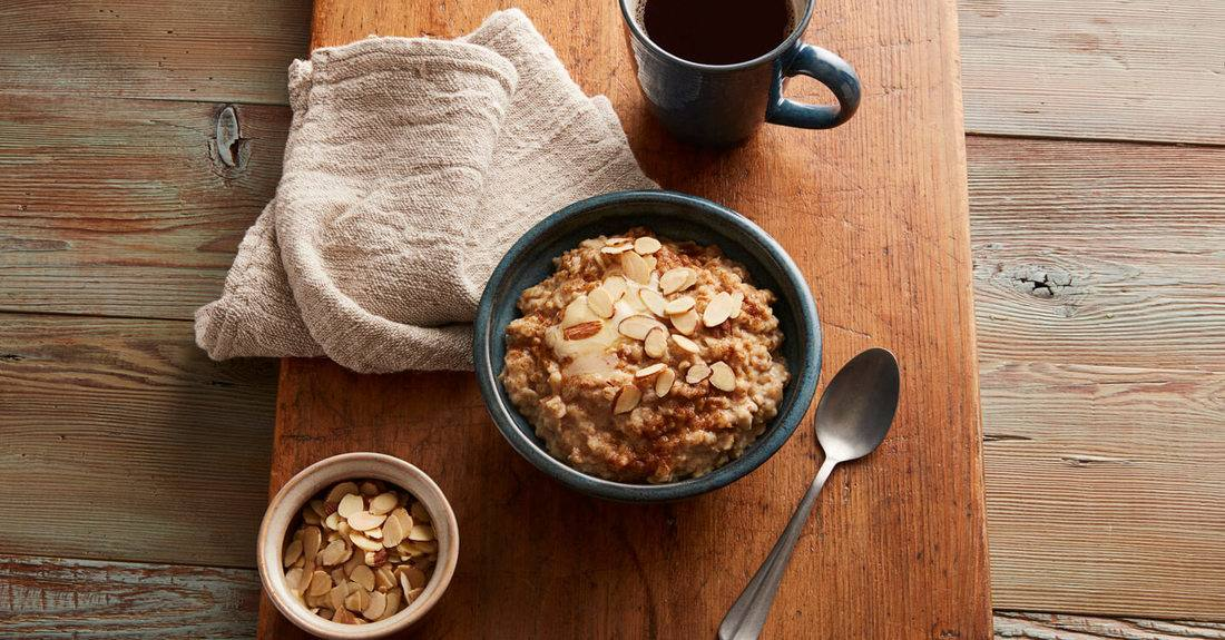 recipe image Creamy Cinnamon Almond Oatmeal